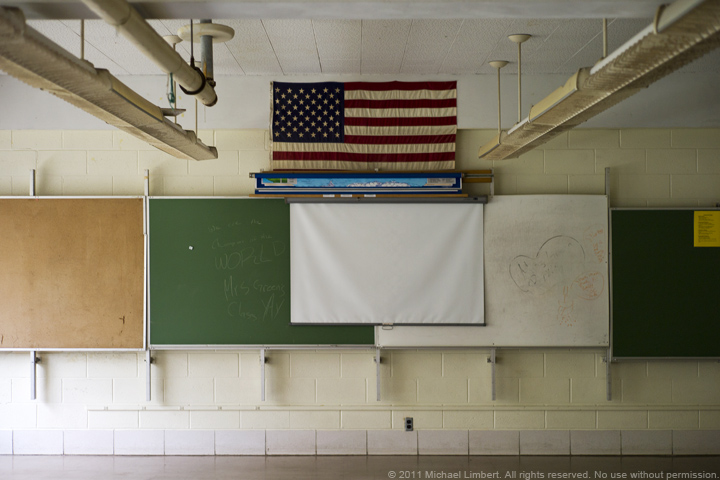 Rangefound, flag, elementary school