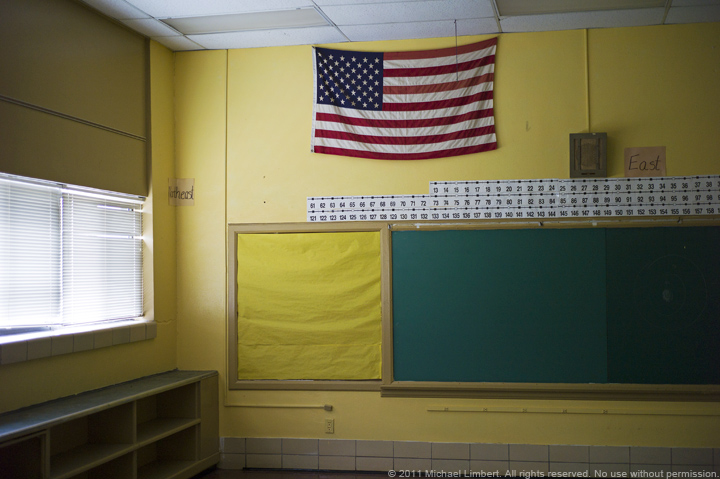 Rangefound, flag, elementary school